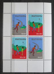Poštovní známky Nizozemské Antily 1978 Dìtské aktivity Mi# Block 8