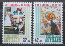 Poštovní známky Nizozemské Antily 1979 Karneval na Arubì Mi# 383-84