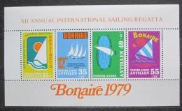Poštovní známky Nizozemské Antily 1979 Regata Bonaire Mi# Block 10
