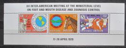 Poštovní známky Nizozemské Antily 1979 Domácí zvíøata Mi# Block 9