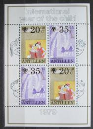 Poštovní známky Nizozemské Antily 1979 Mezinárodní rok dìtí Mi# Block 11