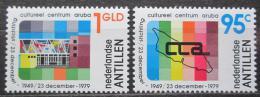 Poštovní známky Nizozemské Antily 1979 Kulturní centrum na Arubì Mi# 407-08