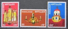 Poštovní známky Nizozemské Antily 1980 Kostel na Curacao Mi# 409-11