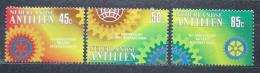 Poštovní známky Nizozemské Antily 1980 Rotary Intl., 75. výroèí Mi# 412-14