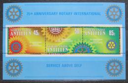 Poštovní známky Nizozemské Antily 1980 Rotary Intl., 75. výroèí Mi# Block 12