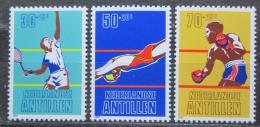 Poštovní známky Nizozemské Antily 1981 Sport Mi# 445-47