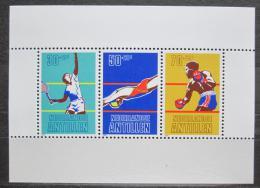 Poštovní známky Nizozemské Antily 1981 Sport Mi# Block 16