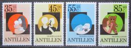 Poštovní známky Nizozemské Antily 1981 Blaho mládeže Mi# 453-56