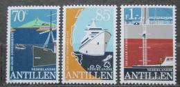 Poštovní známky Nizozemské Antily 1982 Lodní pøeprava Mi# 460-62