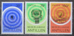 Poštovní známky Nizozemské Antily 1982 Letecká pøeprava Mi# 471-73