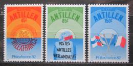 Poštovní známky Nizozemské Antily 1982 Výstava PHILEXFRANCE Mi# 474-76