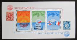 Poštovní známky Nizozemské Antily 1982 Výstava PHILEXFRANCE Mi# Block 21