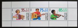 Poštovní známky Nizozemské Antily 1982 Dìti a hudební nástroje Mi# Block 22