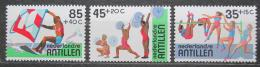 Poštovní známky Nizozemské Antily 1983 Sport Mi# 487-89