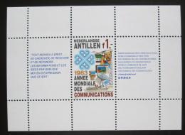 Poštovní známka Nizozemské Antily 1983 Mezinárodní den komunikace Mi# Block 24