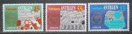 Poštovní známky Nizozemské Antily 1984 Noviny Amigoe de Curacao Mi# 513-15