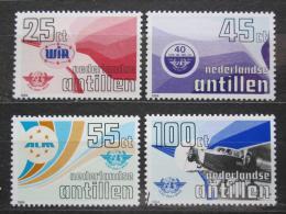 Poštovní známky Nizozemské Antily 1984 Civilní letectví Mi# 516-19