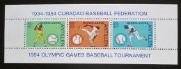 Poštovní známky Nizozemské Antily 1984 Baseball Mi# Block 27 Kat 8€
