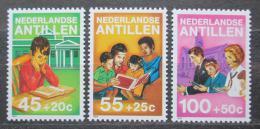 Poštovní známky Nizozemské Antily 1984 Dìtské aktivity Mi# 542-44