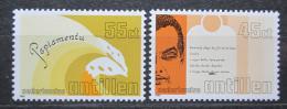 Poštovní známky Nizozemské Antily 1985 Domorodý jazyk Papiamento Mi# 562-63