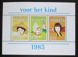Poštovní známky Nizozemské Antily 1985 Dìti svìta Mi# Block 29