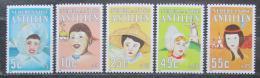 Poštovní známky Nizozemské Antily 1985 Dìti svìta Mi# 564-68