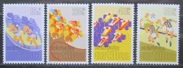 Poštovní známky Nizozemské Antily 1986 Sport Mi# 582-85 Kat 6.50€