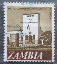 Poštovní známka Zambie 1968 Národní muzeum v Livingstone Mi# 42