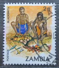 Poštovní známka Zambie 1981 Kováøi Mi# 250