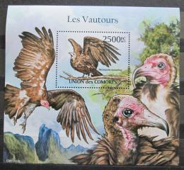 Poštovní známka Komory 2011 Sup kapucín Mi# Block 628 Kat 13€