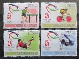 Poštovní známky Guinea-Bissau 2008 LOH Peking Mi# 3688-91 - zvětšit obrázek
