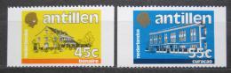 Poštovní známky Nizozemské Antily 1983 Historické budovy Mi# 511-12 C Kat 6€