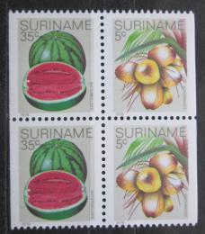 Poštovní známky Surinam 1979 Ovoce Mi# 838,843