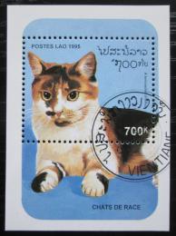 Poštovní známka Laos 1995 Koèka Mi# Block 154