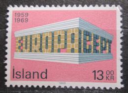 Poštovní známka Island 1969 Evropa CEPT Mi# 428 Kat 3€