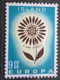 Poštovní známka Island 1964 Evropa CEPT Mi# 386