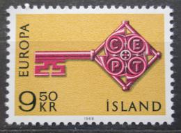 Poštovní známka Island 1968 Evropa CEPT Mi# 417