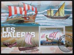 Poštovní známka Togo 2010 Plachetnice Mi# Block 558 Kat 12€