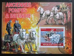 Poštovní známka Togo 2010 Hasièi Mi# Block 551 Kat 12€