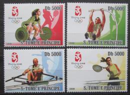 Poštovní známky Svatý Tomáš 2008 LOH Peking Mi# 3412-15 Kat 12€
