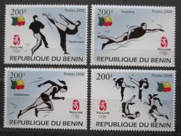 Poštovní známky Benin 2008 LOH Peking Mi# 1463-66 Kat 10€