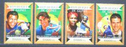 Poštovní známky Guinea 2015 Tenisti Mi# 10982-85 Kat 20€