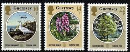 Poštovní známky Guernsey, Velká Británie 1986 Evropa CEPT, pøíroda Mi# 358-60