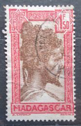 Poštovní známka Madagaskar 1944 Domorodec Mi# 199