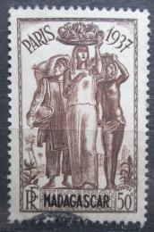 Poštovní známka Madagaskar 1937 Mezinárodní výstava v Paøíži Mi# 243