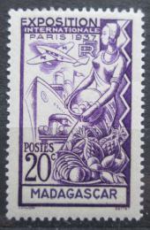 Poštovní známka Madagaskar 1937 Mezinárodní výstava v Paøíži Mi# 240