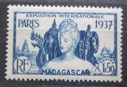 Poštovní známka Madagaskar 1937 Mezinárodní výstava v Paøíži Mi# 245