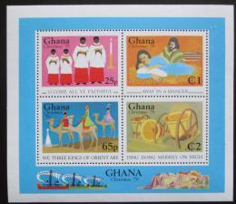 Poštovní známky Ghana 1979 Vánoce Mi# Block 80