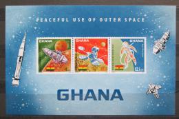 Poštovní známky Ghana 1967 Prùzkum vesmíru Mi# Block 26