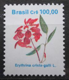 Poštovní známka Brazílie 1990 Lilek višòový Mi# Mi# 2373